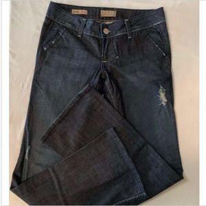 William Rast Vintage Flare Trouser Jeans Flap Pkts